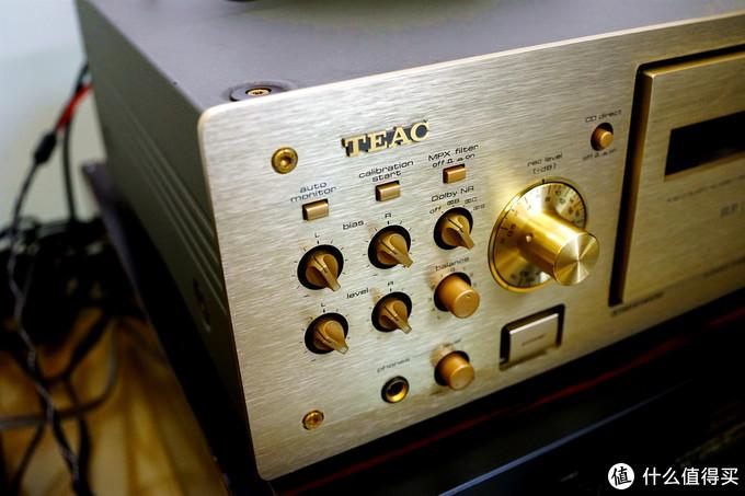 重拾模拟音,晒晒Teac 8030s 玫瑰金卡座/磁带/录音机