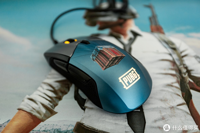 吃鸡精神股东的胜利日!赛睿 Rival 310 PUBG绝地求生限量版鼠标套装测评
