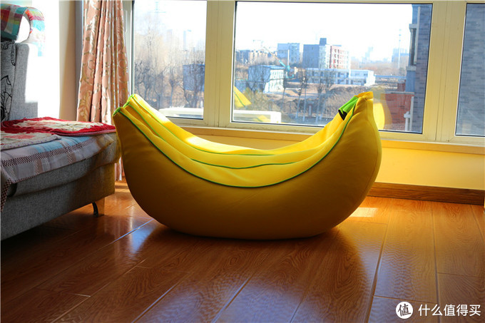 慵懒的一天,从躺在香蕉懒人沙发上开始