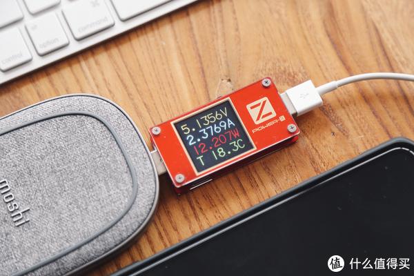 无线充移动电源合体:Moshi Porto Q 5K无线充电移动电源