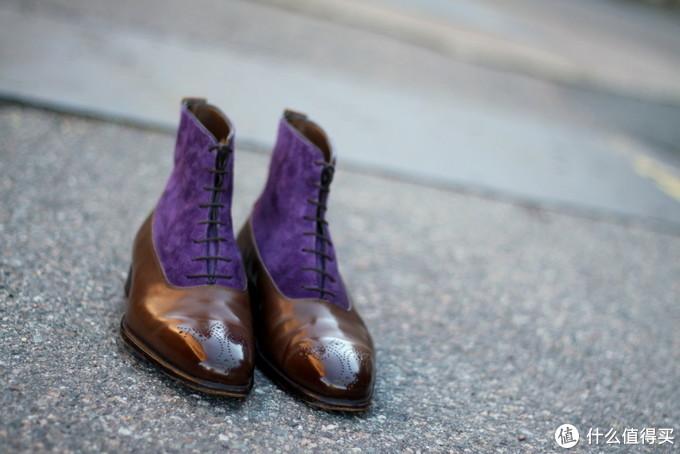 花花公子、绅士、罗曼蒂克、优雅,居然都集中在这一款皮鞋上!
