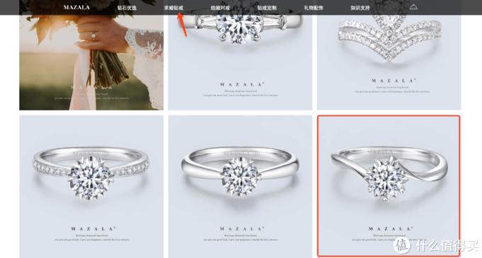 问了客服这款是女孩子自己买选择最多的,还是很显钻石大的款式,我也很喜欢这款。
