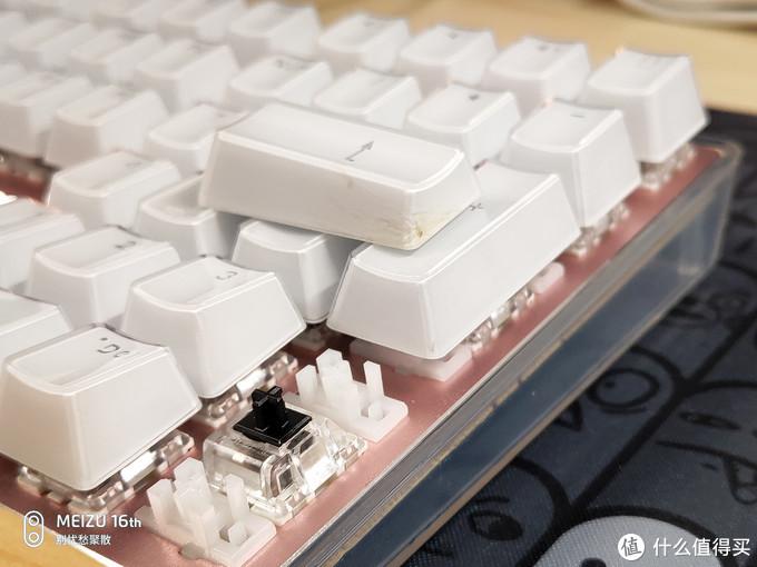 入门级新品  AJAZZ黑爵 朋克晶彩 机械键盘(黑轴) 众测体验