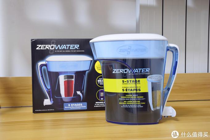 效果好,不用电,只是净水有点慢-Zerowater家用净水壶,免安装的简易家用净水机
