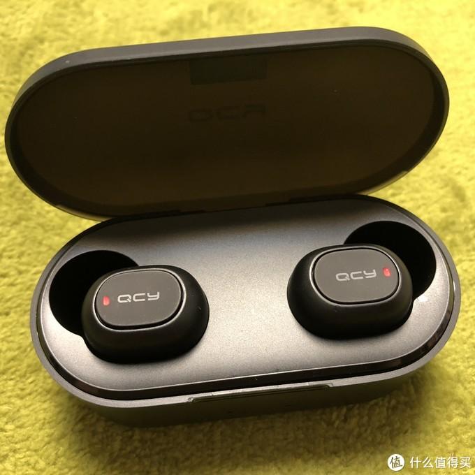 百元能买到的真无线耳机-—QCY T1S蓝牙耳机开箱评测