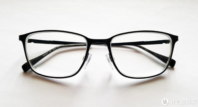 配好的眼镜实拍