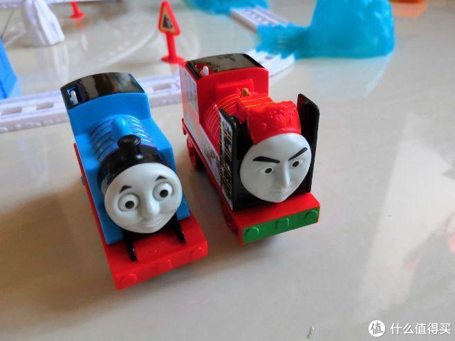 托马斯电动火车玩具之雪地大冒险套装晒单兼个人轨道玩具选购心得