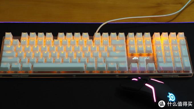 这就是朋克!—— AJAZZ 黑爵 朋克晶彩机械键盘体验之旅