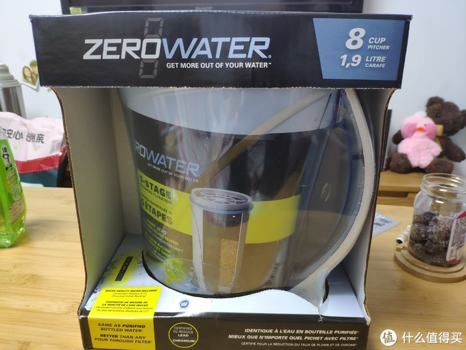 年前小福利——zerowater家用净水壶小评