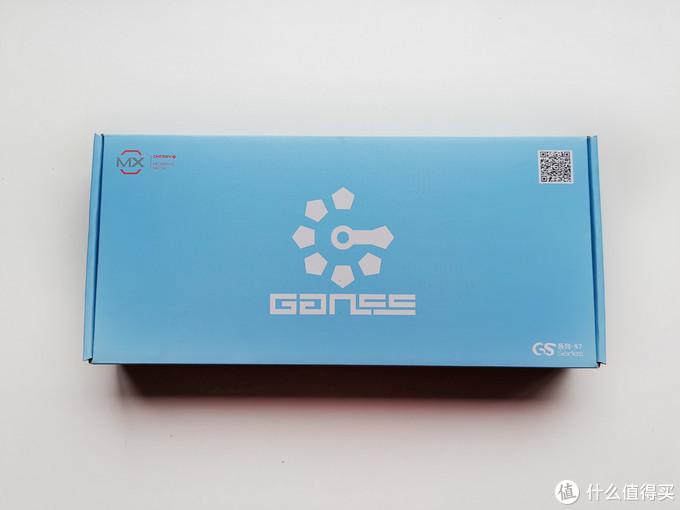 蓝色的包装盒