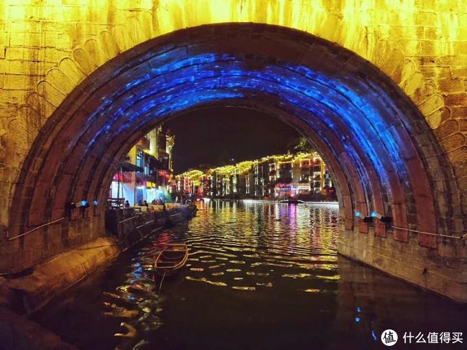 舞阳河夜景