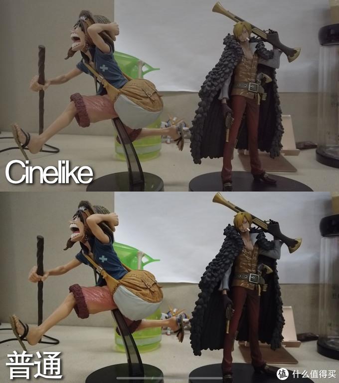 这张对比图展示了Cinelike色彩模式的优势,只有录像才有,拍照没有哦,因为拍照有RAW。