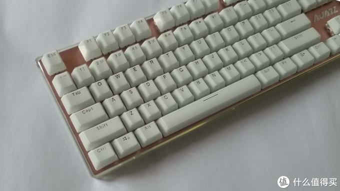 AJAZZ黑爵 AK510 朋克晶彩 机械键盘评测