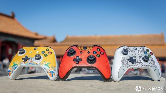 """重返游戏:Xbox 推出""""故宫""""主题手柄贴纸!"""