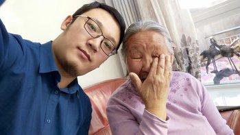 大妈送给奶奶的新年礼物,虽有不足,情意千金