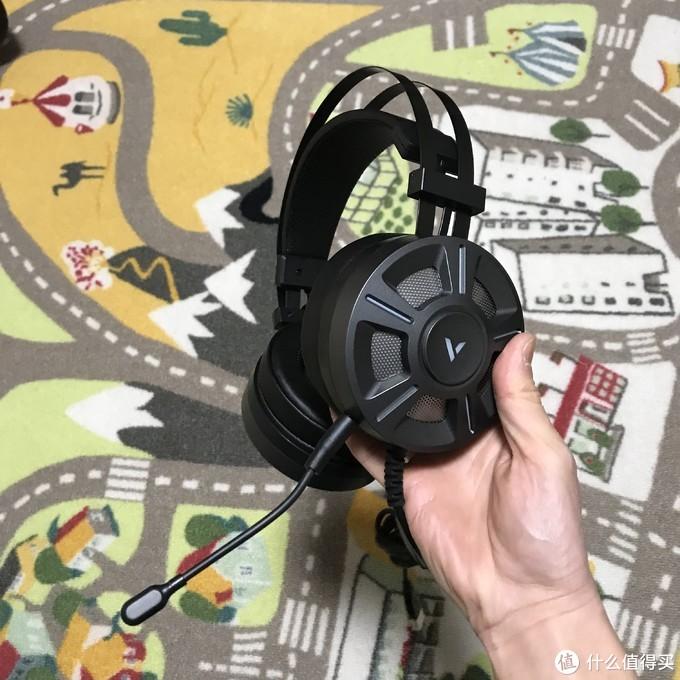 音质有惊喜!酷炫RGB!雷柏VH510RGB游戏耳机测评