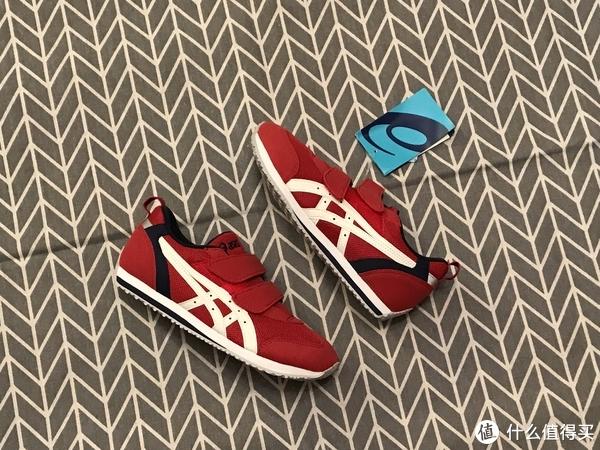 159元真不错!ASICS IDAHO MINI 3 魔术贴童鞋