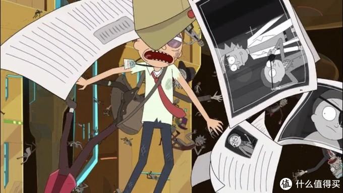 """注意右边,第一季的""""坏莫蒂""""出现了。第四季一定非常精彩!"""