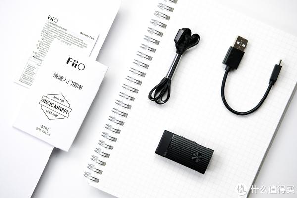 手机没有3.5mm接口之后怎么办?让3.5mm耳机重生小设备:飞傲 FiiO BTR1 无线蓝牙音频接收器