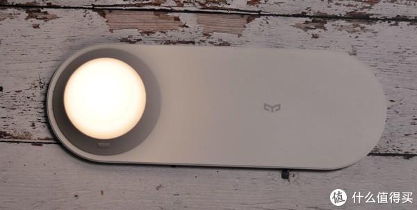 冬夜小桔灯,Yeelight 无线充电夜灯入手体验