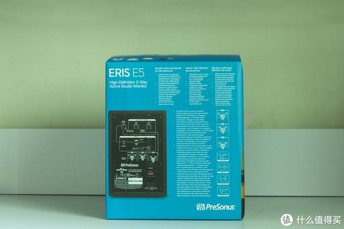 Eris E5包装箱背面