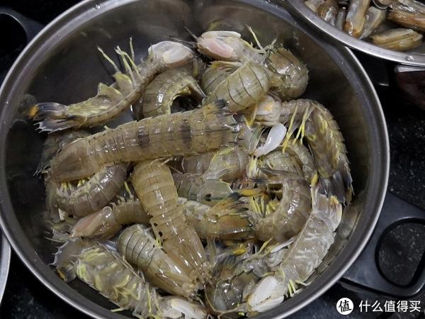 皮皮虾,30元一斤,买了2斤