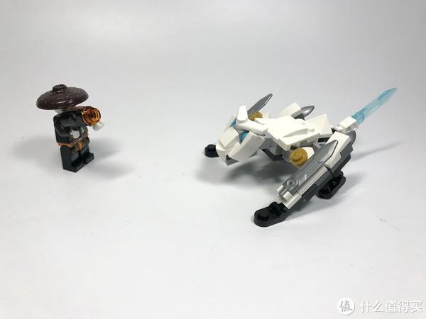 LEGO 乐高 拼拼乐 篇205: 幻影忍者系列之 30547 捕龙部落
