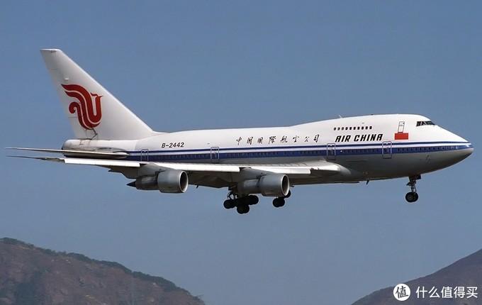 中国国航时期的B-2442