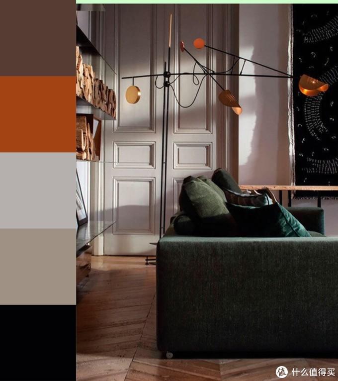 彩色墙面不敢做?可以直接照抄的配色方案送给你。