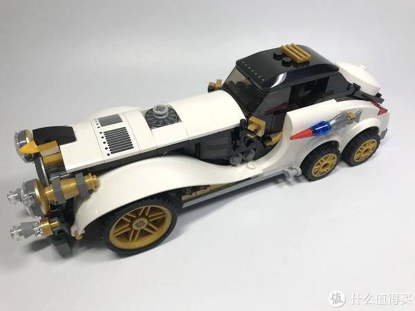 LEGO 乐高 拼拼乐 篇212:这辆车太酷了之Batman系列 70911 复古企鹅人座驾