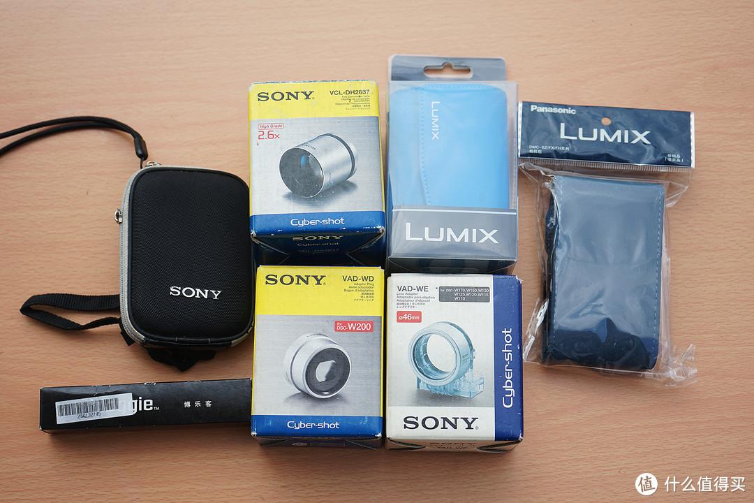 索尼镜头转接器及松下相机包