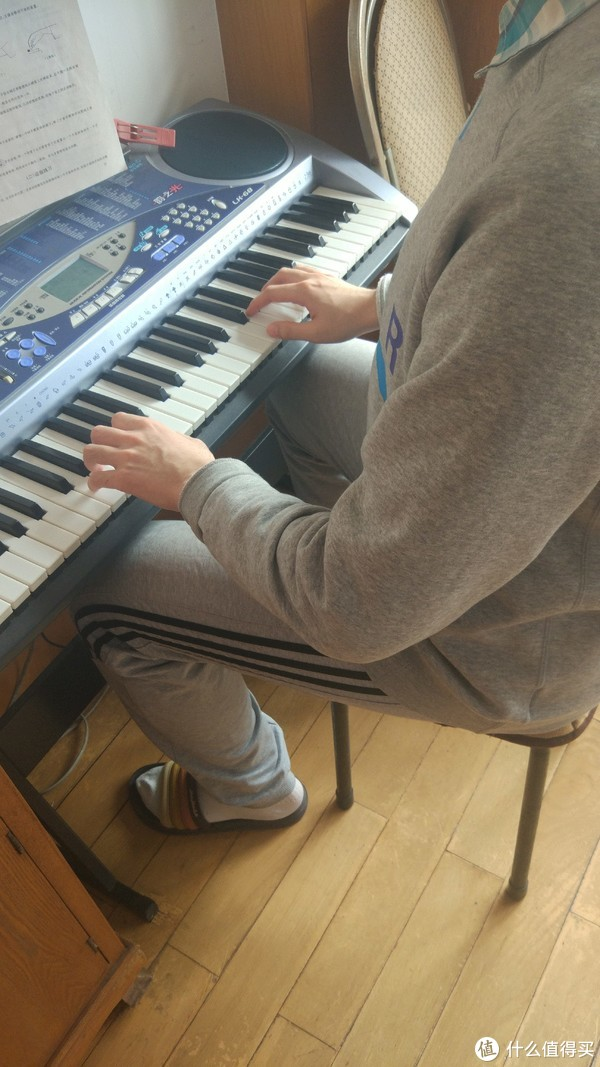 初识电子琴,结构和基本姿势