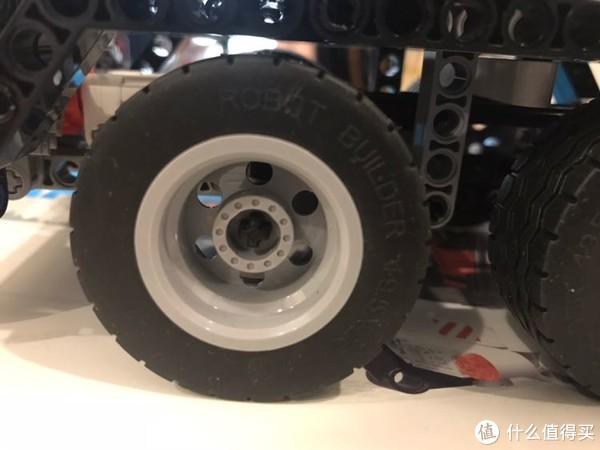 轮胎质感不错