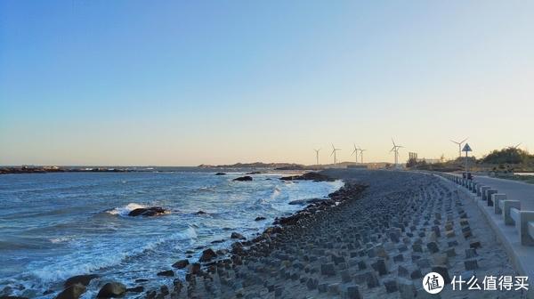 这是晋江金井的海滩