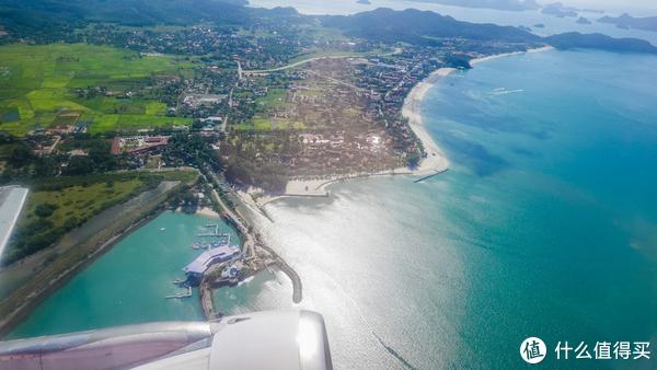 兰卡威起飞去槟城,全程低空飞行,欣赏风景之旅