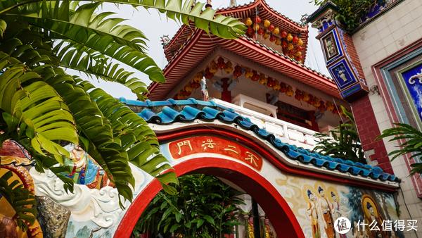 槟城极乐寺的网红门
