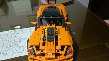 乐高 机械组 42093 雪佛兰 科尔维特 ZR1跑车使用总结(车门 车轮)