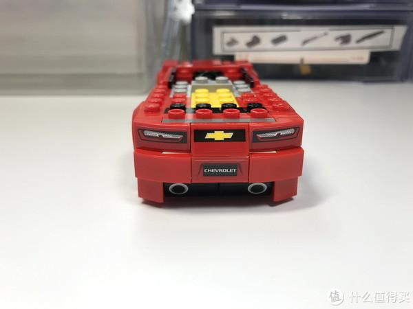 LEGO 乐高 拼拼乐 篇216:超级赛车 75874 之 2016款 Chevrolet Camaro 雪佛兰科迈罗