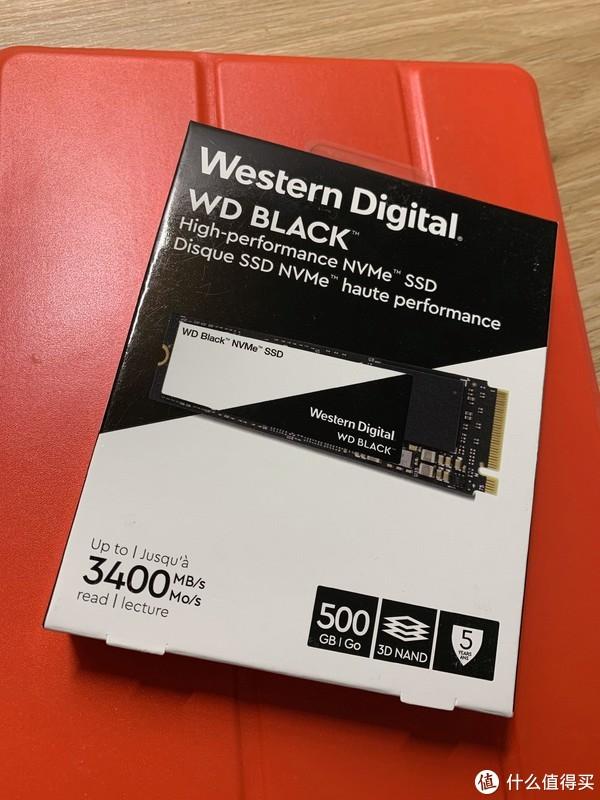 固态买了西数黑盘500g,价格是710,现在固态和内存的价格下降也是这次装机的另一大动力。