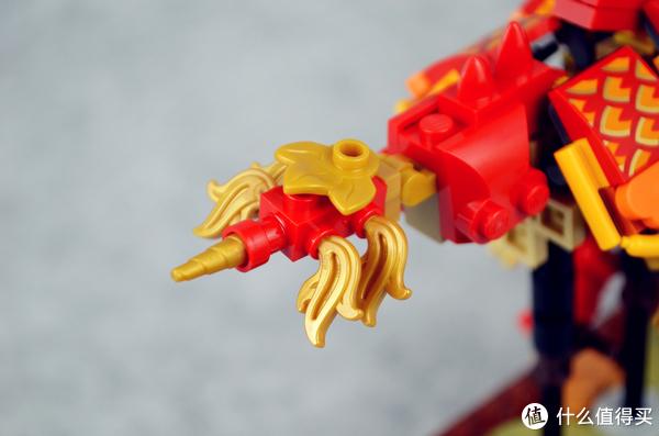 最有纪念意义的乐高,乐高LEGO中国风80102 舞龙