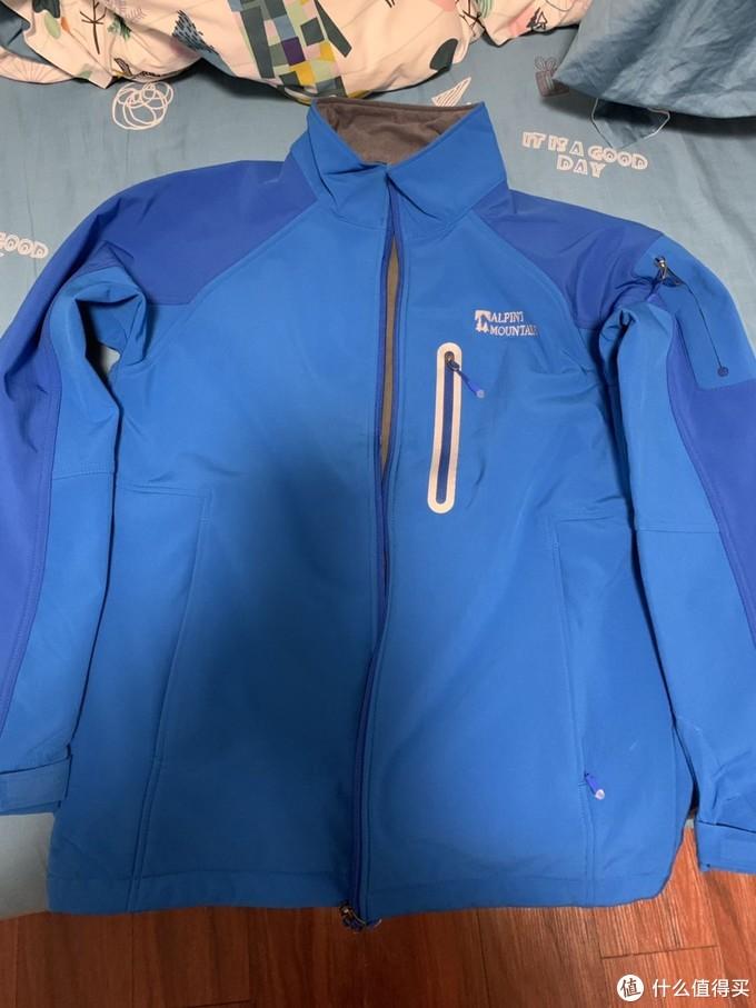 70块值不值-记ALPINT MOUNTAIN国产抓绒防风防水冲锋衣 620-001