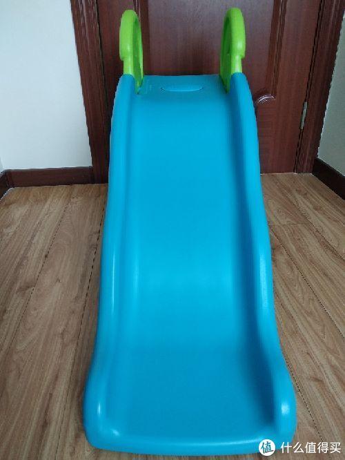 """给娃的第一个室内""""健身器""""高思维波浪小滑梯"""