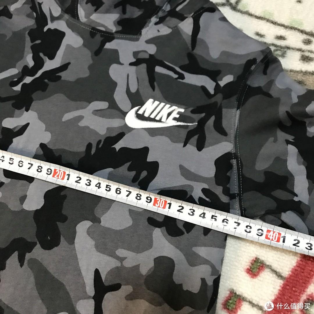价格实惠的Nike儿童迷彩连帽卫衣