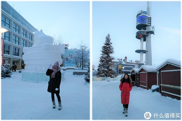 冰天雪地的世界,2个妹子的芬兰春节
