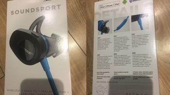Bose SoundSport Wireless 耳机外观展示(耳塞|包装)