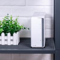 群晖 DS119j 单盘位NAS 网络存储服务器购买理由(体积 配色 品牌)
