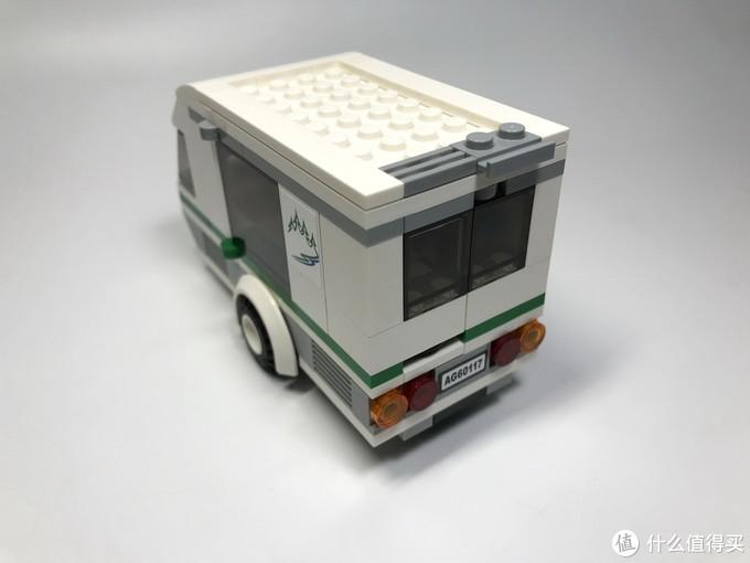 乐高 CITY 城市系列 60117 大篷车与露营