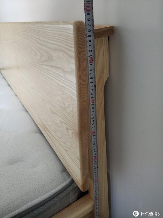床头整体高度98cm左右