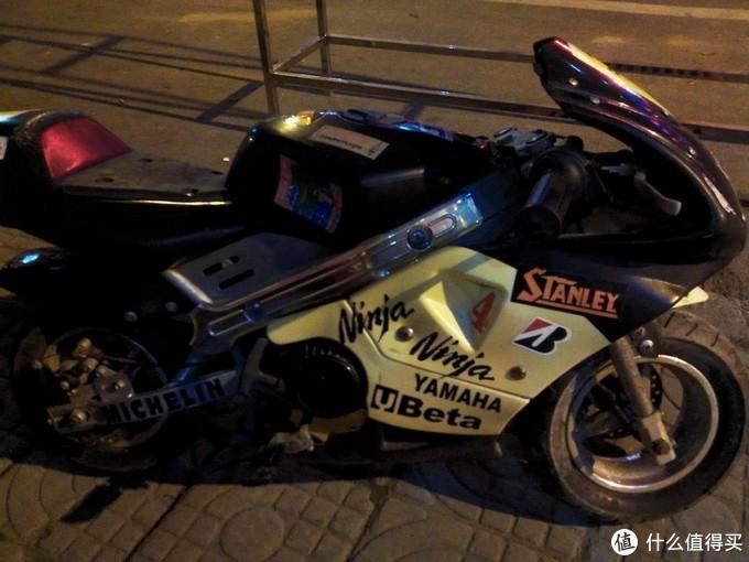大学买的小摩托十年历史了