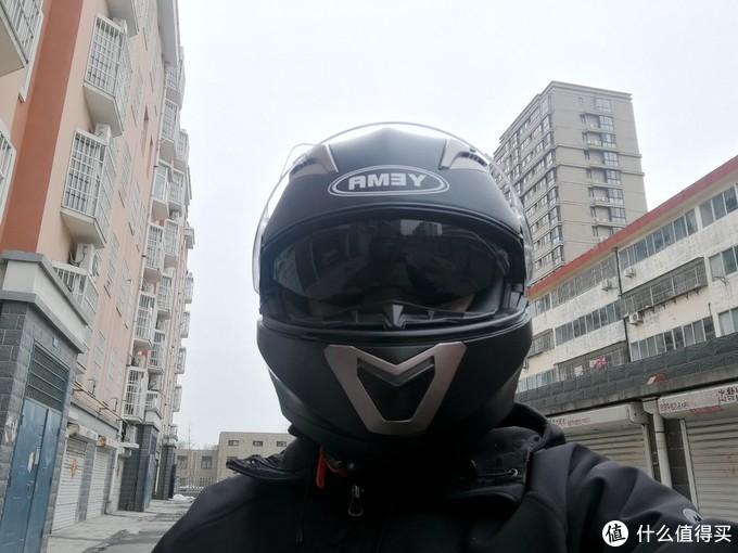 骑佳御半年才想起来入手的野马头盔